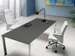 Zeus high executive 2600, Sillón de oficina con tapicería de cuero