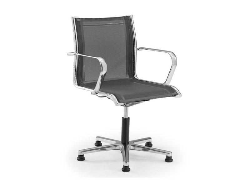 Origami RE guest 70235, Silla de oficina con ruedas, con asiento y respaldo de malla