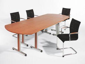 Sentrum 05/1A, Silla apilable con apoyabrazos, para salas de reuniones y oficinas