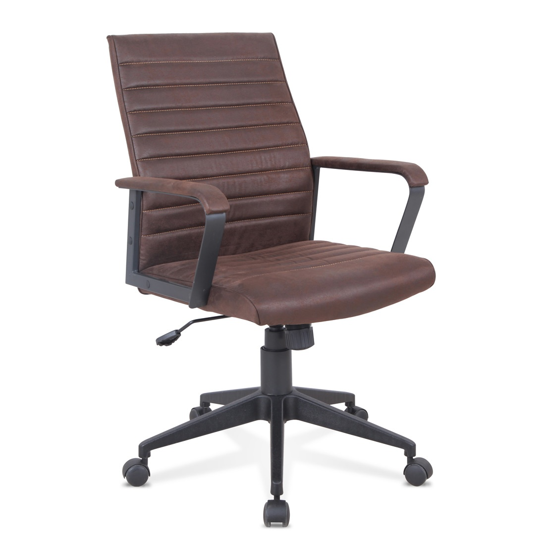 Silla ergonómica con cuero ecológico, resistente, para oficina ...