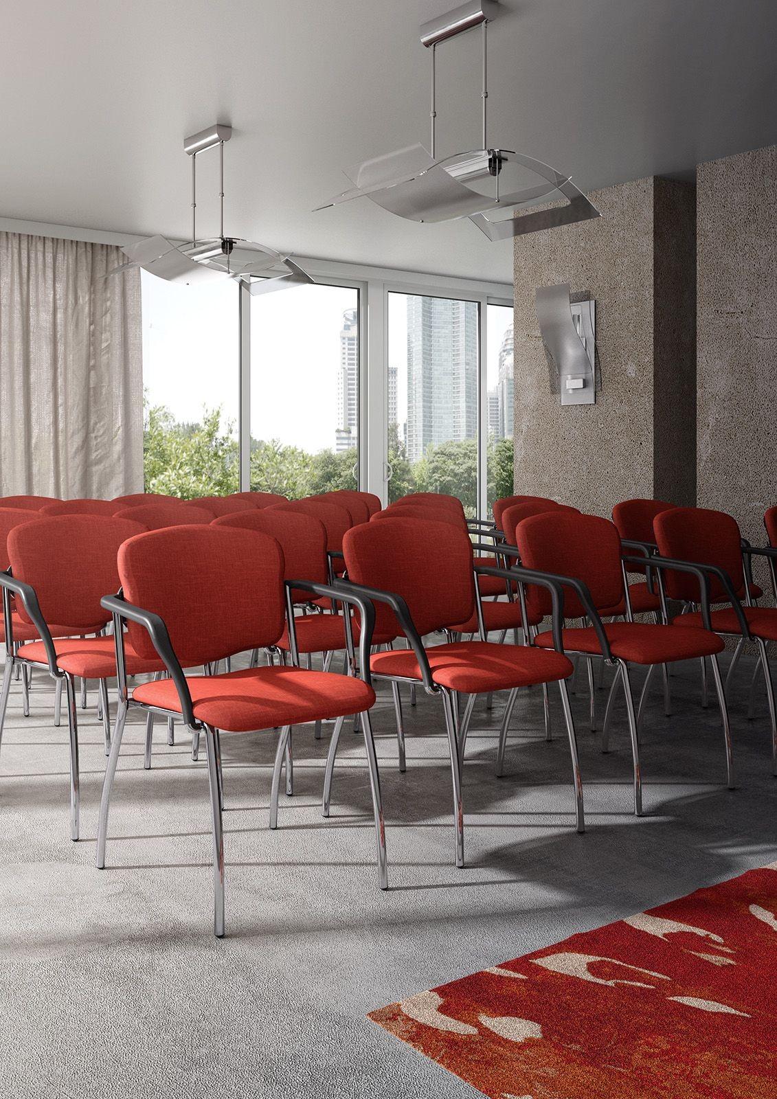 Valeria 6536, Sillón acolchado para salas de conferencias y de espera