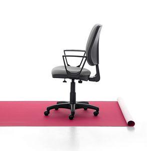 Eros 01 CP, Silla de trabajo de acolchado, base de aluminio, para la oficina