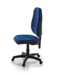 Robin Maxi SY, Silla simple para la oficina, polipropileno acolchada