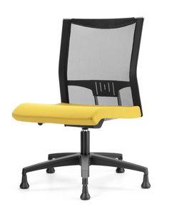 AVIANET 3650, Silla con los pies, con la parte posterior de malla, para la oficina moderna
