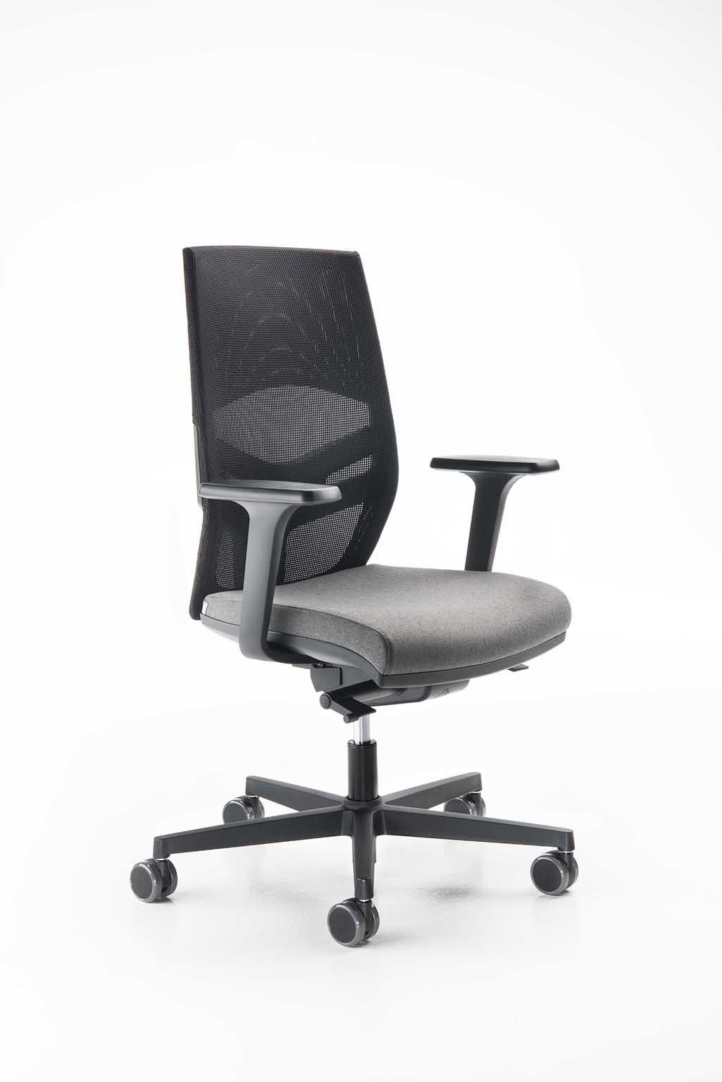 Silla de oficina, moderno, elegante, ajustable | IDFdesign