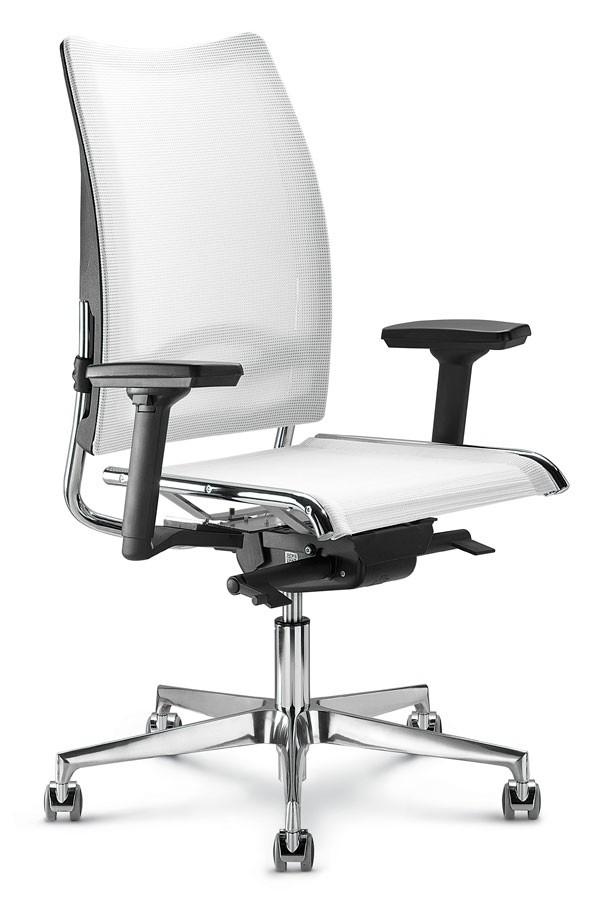 Silla de oficina con respaldo alto con red ergonómica