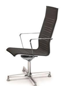 KEYPLUS 3158, Silla de oficina, ergonómico y transpirable shell
