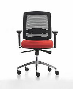 New Malice 01, Silla operativa para la oficina, ideal para centro de llamadas
