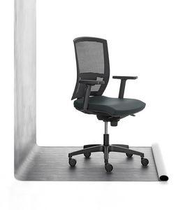 Mia 01, Silla de trabajo de acolchado de poliuretano, para la oficina