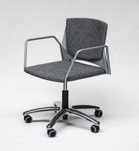 TREK 041S, Silla de oficina con ruedas