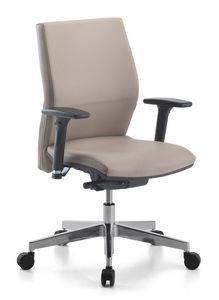 Venus Soft 02, Tarea silla con apoyabrazos para la oficina
