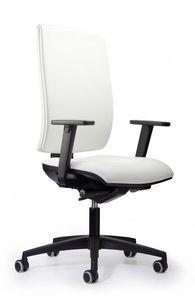 WIND 103, Silla de oficina operativa, acolchado, fácil de usar