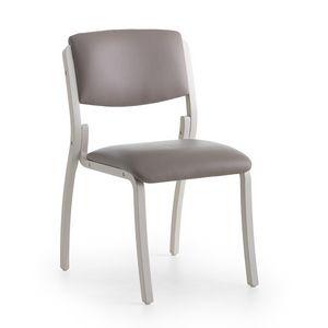 Silver Age 03 S, Silla cómoda, práctica y robusta, para el hospital