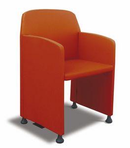Meeting, Silla con dimensiones contenidas para salas de reuniones