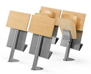 VEKTA A106, Silla fija con el escritorio y el libro de almacenamiento