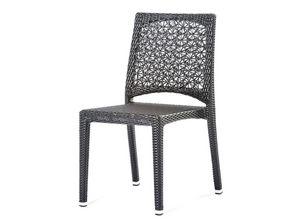 Altea silla, Silla con tejidos con motivos florales, para el aire libre y el bar
