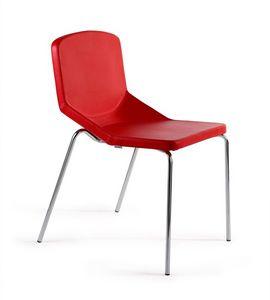 Formula40 4g fabric, Metal acolchada silla, c�modo y acogedor, que puedan utilizarse en cualquier contexto