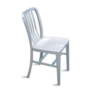 Trattoria silla, Silla de aluminio ligero para jardín y piscina