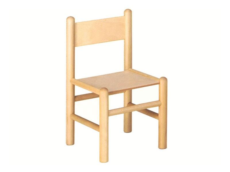 940, Silla para niños, realizado en madera de haya, adecuado para pupitres