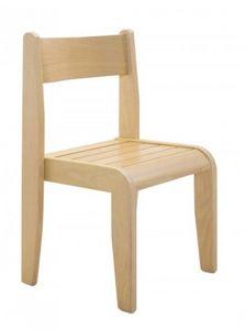 Andy, Apilables silla para niños, realizado en madera de haya