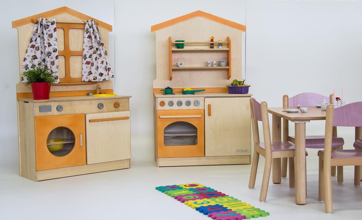 Muebles de madera para niños, juegos para niños, creados con ...