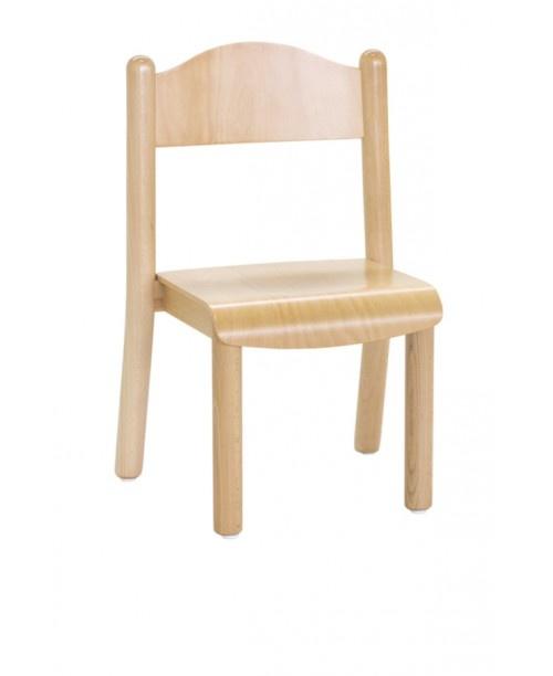 CIAO, Apilamiento pequeñas sillas, en madera de colores, para el jardín de infantes