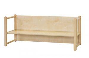 DIXI/P, Banco de madera de haya, en varias alturas