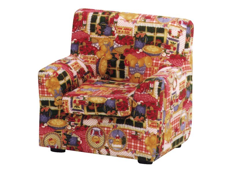 LILLI, Sillón para niños pequeños, tapizados con tela de colores, para el dormitorio y el cuarto de niños niño