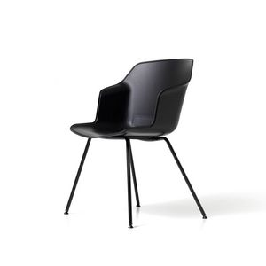 Clop 4 piernas imb, Silla sobre 4 patas con asiento tapizado.