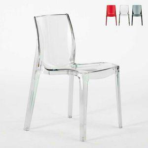 Casa transparente silla de la barra de mujer fatal - S6317TR, Silla Fireproof, hechas de pl�sticos, apilable