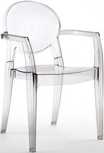 SE 2357, Todas silla de policarbonato, para pizzerías y bares