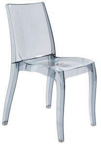 SE 6326, Silla ligera hecha de polipropileno transparente, apilable