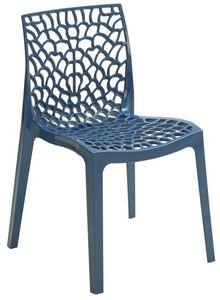 SE 6316, Polipropileno silla perforada para bares y restaurantes