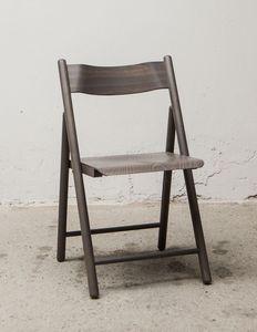 184, Silla plegable de peso ligero, hecho de madera de haya