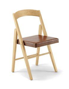 JL 11 silla, Silla plegable, hecha de madera