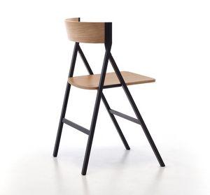 Klapp, Plegable silla de madera ideal para el contrato