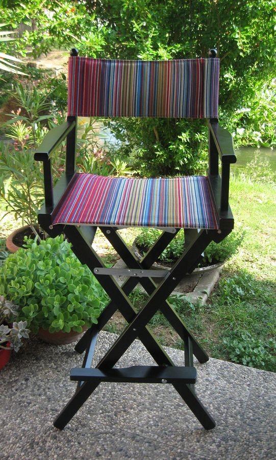 Silla de director con los colores del verano   IDFdesign