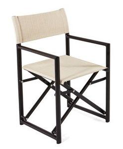 Victor director sillón, Silla plegable, con la tela batyline, para el aire libre