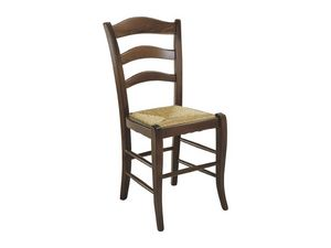 105, Rústica silla con asiento de paja, para uso residencial