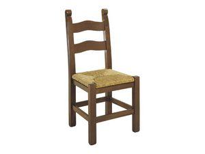 108, Pintada rústica silla de madera, con varios acabados