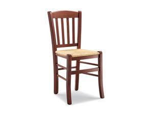 139, Silla rústica con asiento de paja, de tabernas y posadas