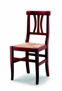 176 Fiorella, Silla rústica con asiento de paja