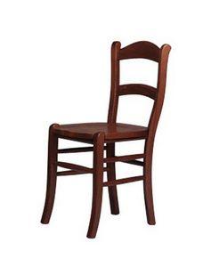 202, Rústica silla de madera maciza de haya, de casas de campo
