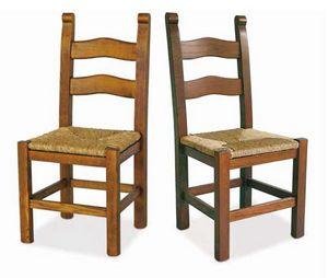 Bassano, Silla de madera con asiento de paja