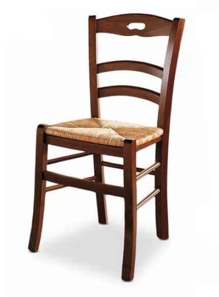 Menton, Silla con asiento de paja