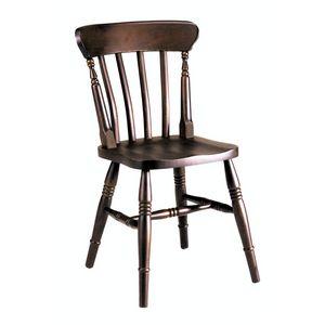 Vieja silla, Silla de madera de haya totalmente sólida para bares y pubs