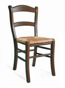 Savoia, Silla rústica con asiento de paja