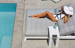 PL Argentina Double, Tumbona acolchada para piscina