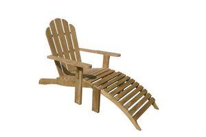 Riviera 502, Silla de Adirondack es una silla de madera sencilla y confortable para uso en exteriores