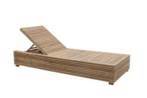 Saint Tropez 0517, Tumbona reclinable con mesa extraíble